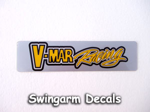 V-Mar swingarm stickers