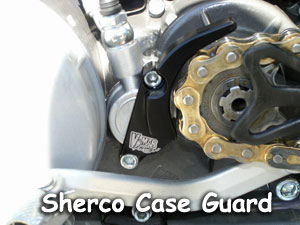 Sherco Case Guard installed