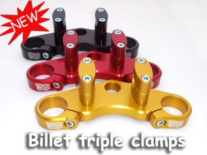 Billet Triple clamp